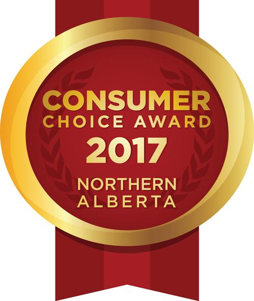 Optimum Wellness Consumer Choice Award 2017 Northern Alberta