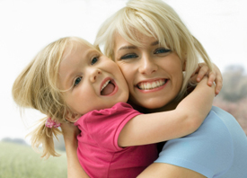 naturopathic care - image of mother daughter